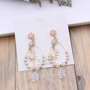 2/$20 handmade jewelry star earring
